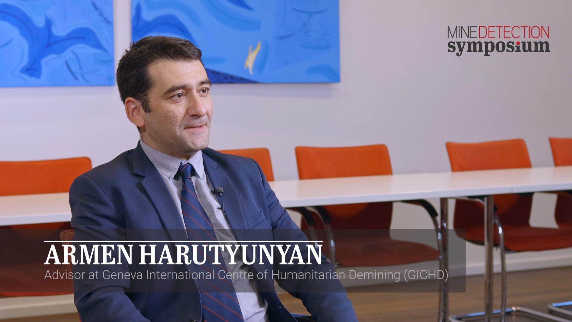 Armen Harutyunyan - Symposium - Mine Detection Symposium 2019