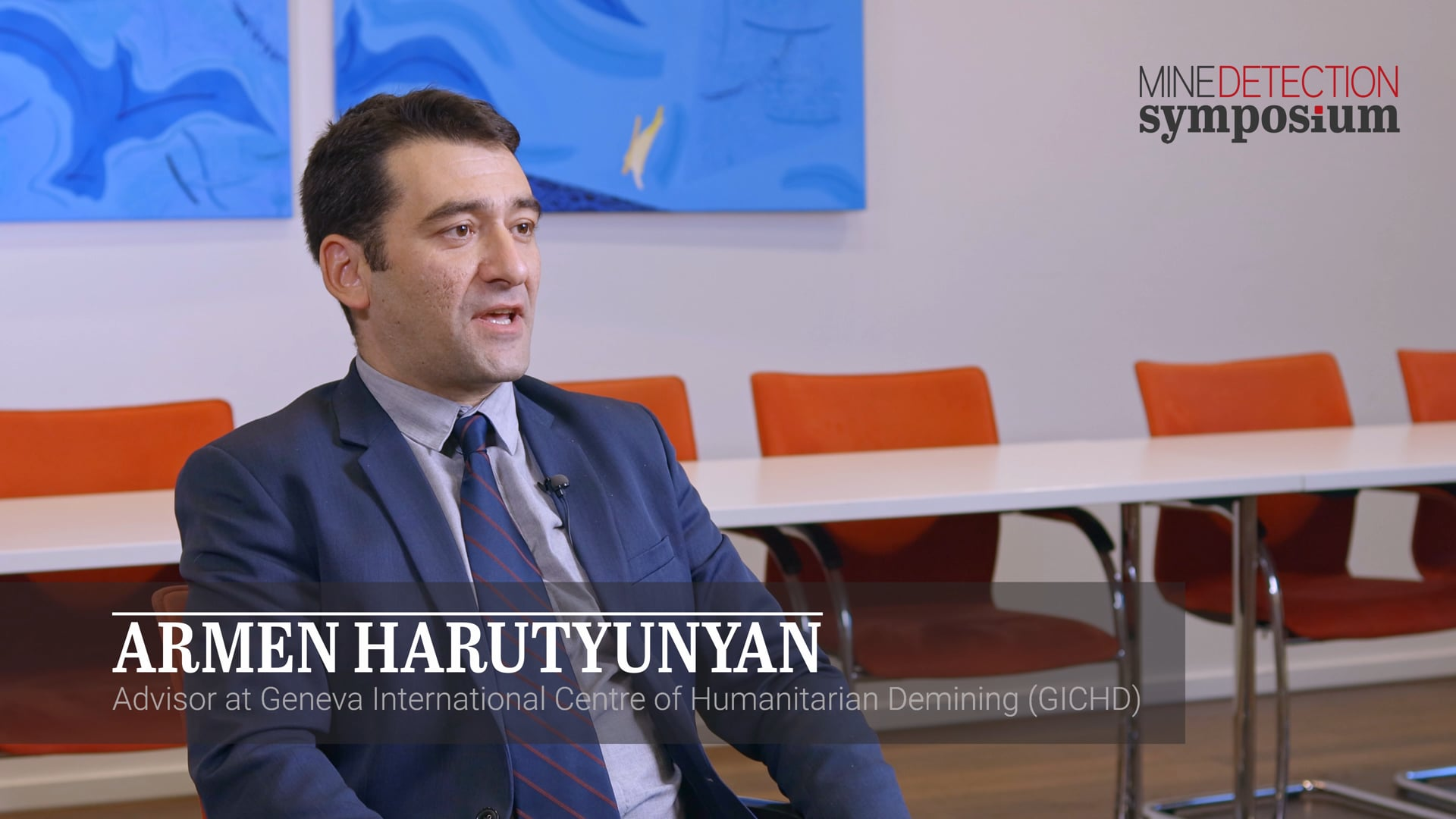 Armen Harutyunyan - Future of demining - Mine Detection Symposium 2019