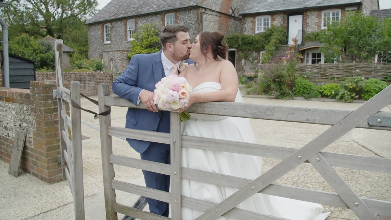 Abbie and Matt - Spread Eagle Hotel and Upwaltham Barns, West Sussex