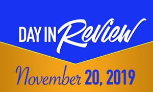 HIS Morning Crew Day in Review: Wednesday, November 20, 2019
