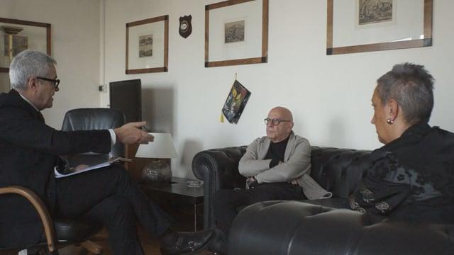 Marco Cuchel e Miriam Dieghi incontrano il Presidente del Consiglio di Presidenza della Giustizia Tributaria Antonio Leone