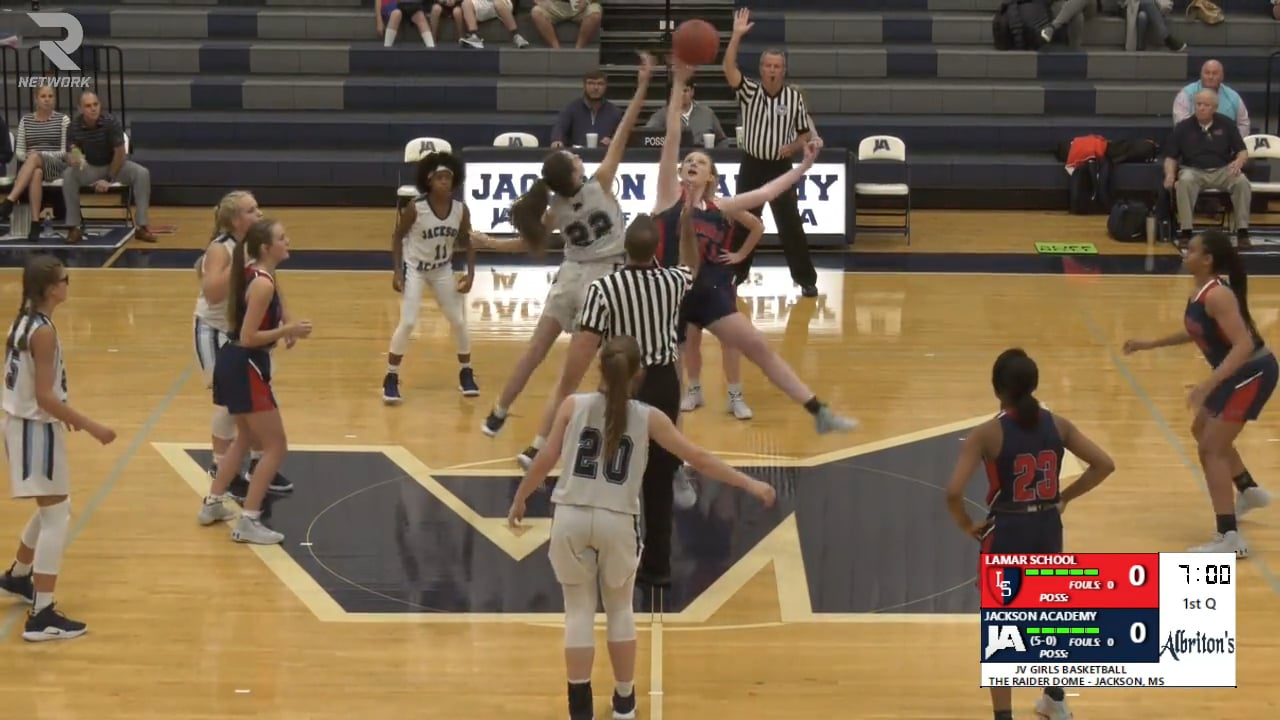 JV Girls Basketball-2019-Nov 19-Lamar School