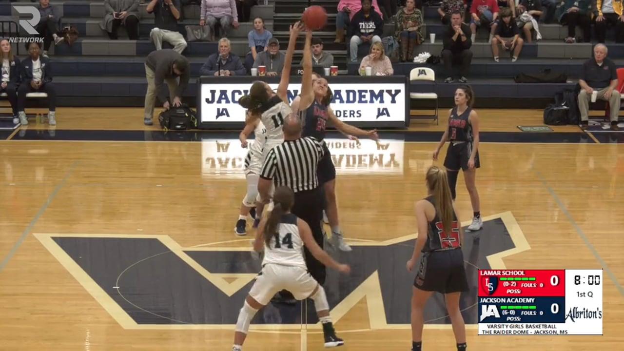 Varsity Girls Basketball-2019-Nov 19-Lamar School