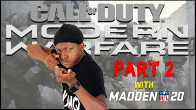 More Call of Duty 2v2 + Madden Games - Stream Replay