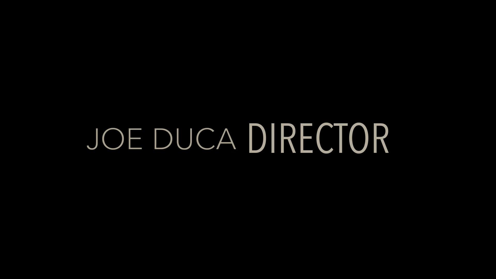 Joe Duca   Showreel