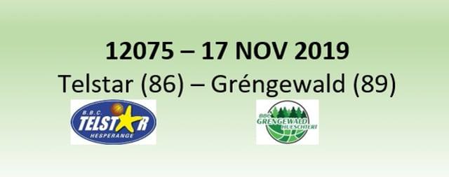 N2H 12075 Telstar Hesperange (86) - Gréngewald Hueschtert (89) 17/11/2019