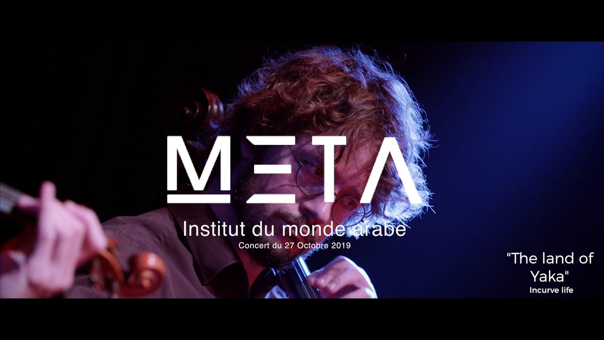 Concert de Meta kheniche à l'institut du monde arabe