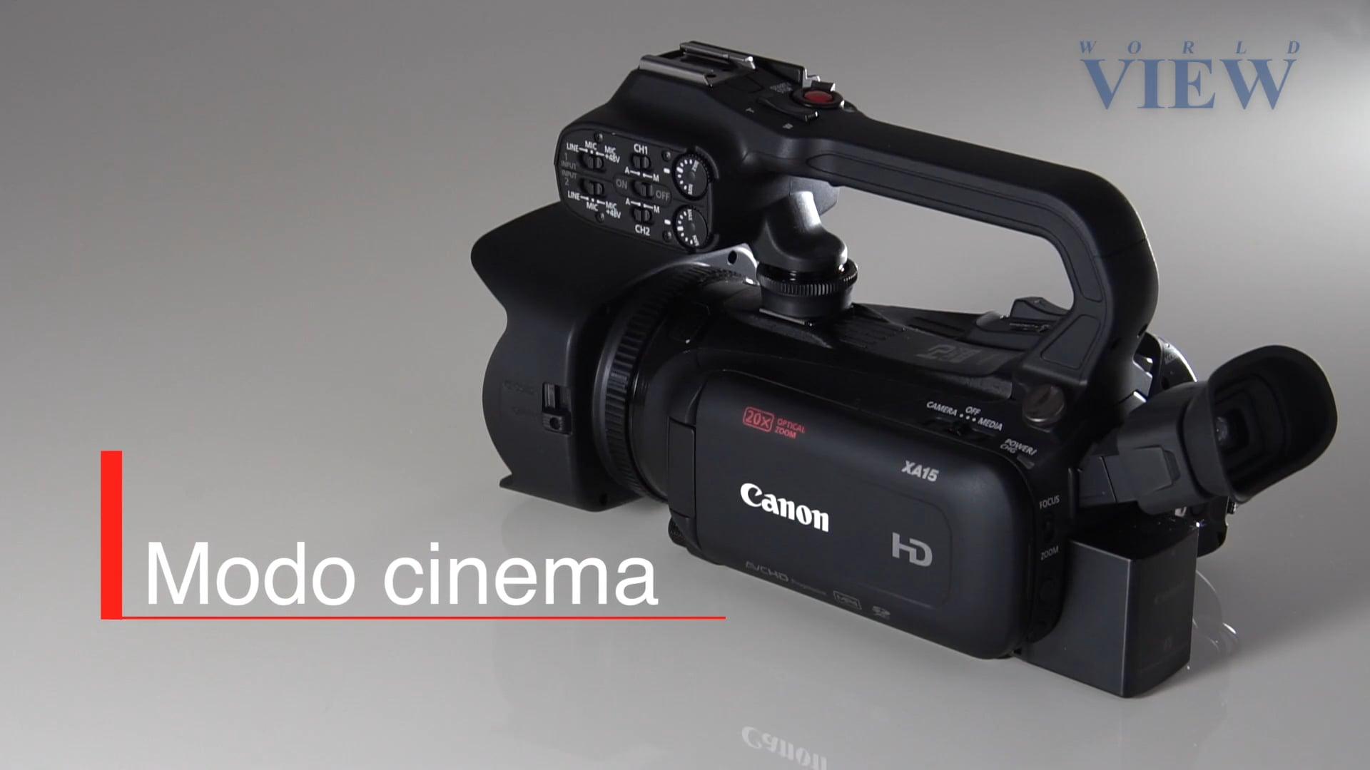 Luz, câmera, ação! O modo cinema da câmera Canon XA15!