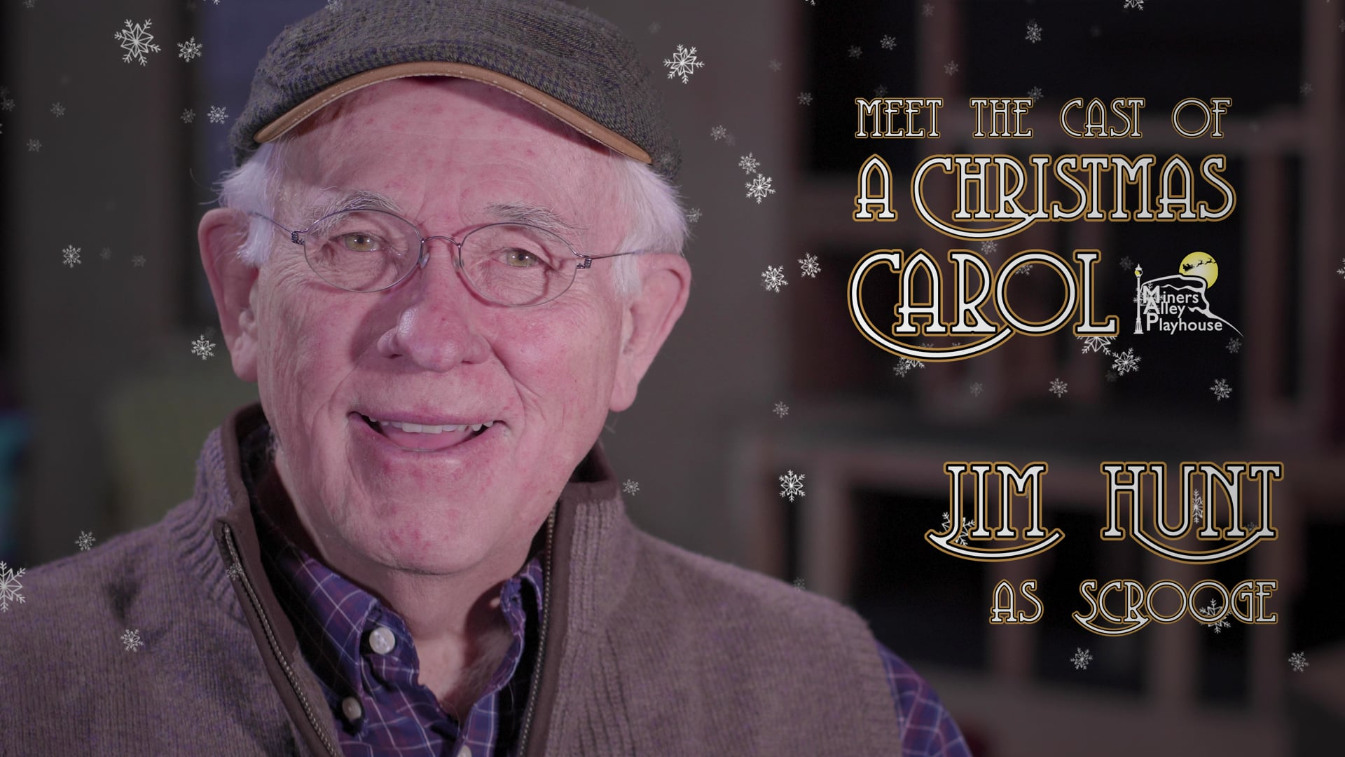 """MAP - Meet the Cast of """"A Christmas Carol"""" (Jim Hunt as Scrooge)"""