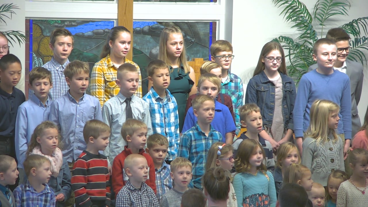 Amen and Praise God From Whom All Blessing Flow - Sunday School Choir
