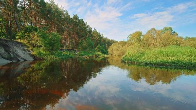 Peaceful River in Ukraine - Nature Soundscape