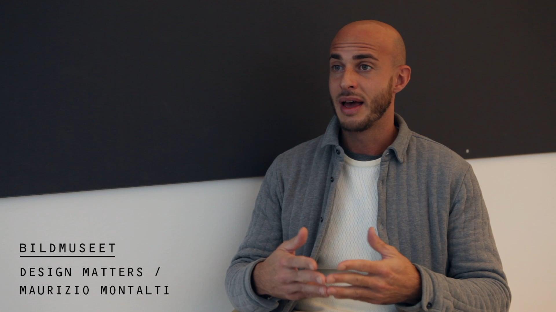 Film: Design Matters / Maurizio Montalti