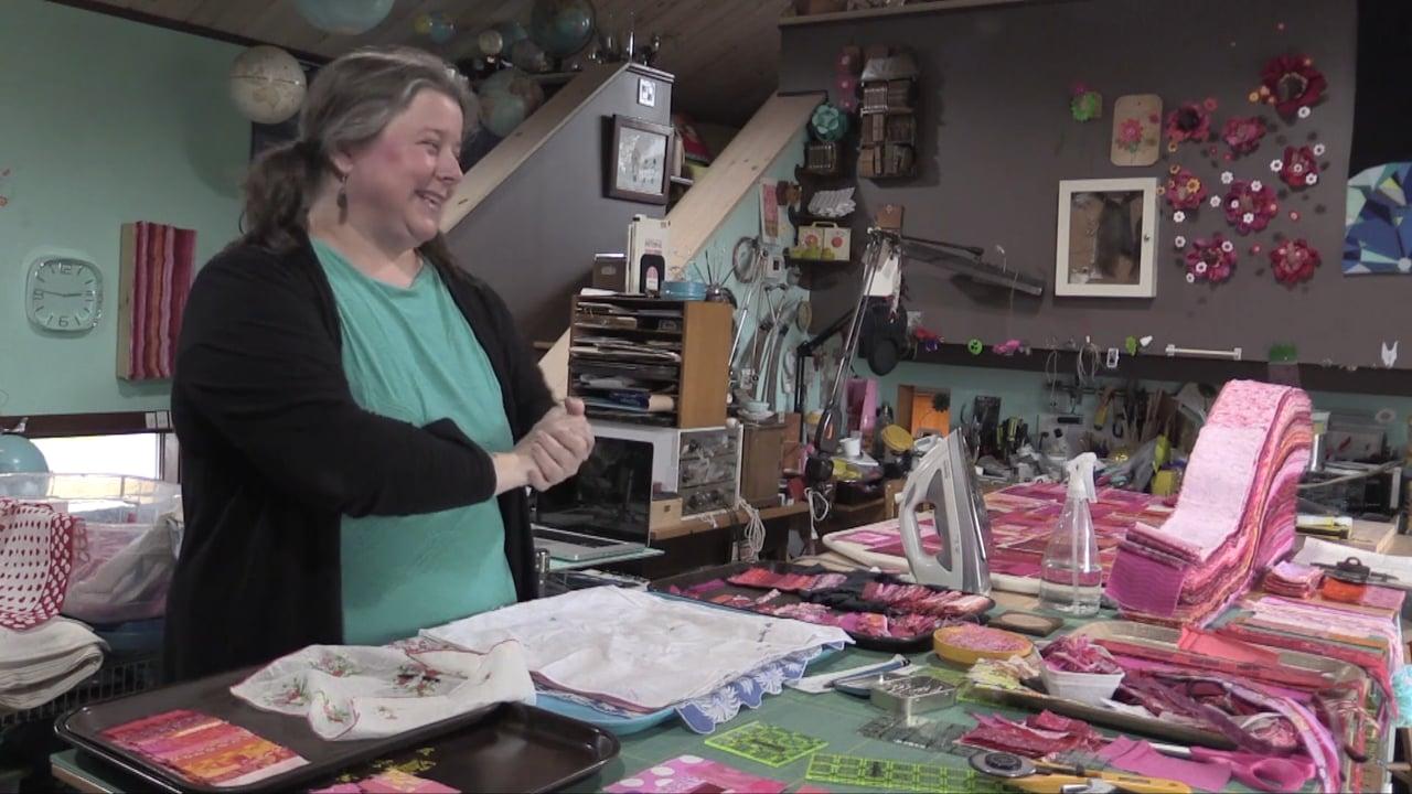 MAKER MAKER: Hand-Stamped Handkerchiefs with Tara K. Wells