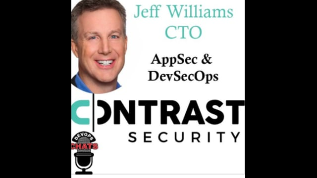 EP 172: AppSec, DevSecOps and more w Jeff Williams Contrast Security