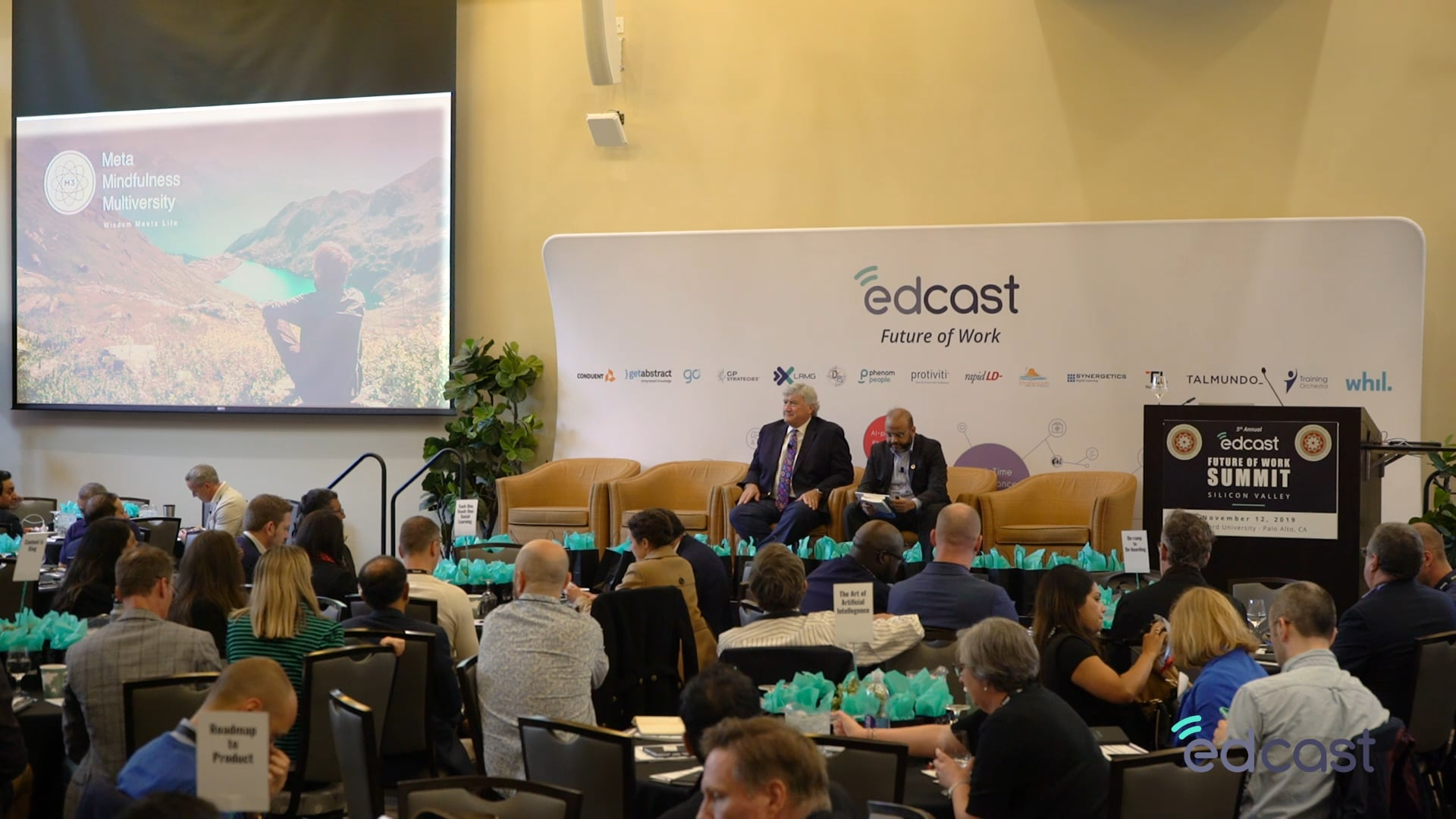Dr. James Doty & Immanual Joseph, Mindfulness & Compassion in Today's Workplace   EdCast FOW 2019