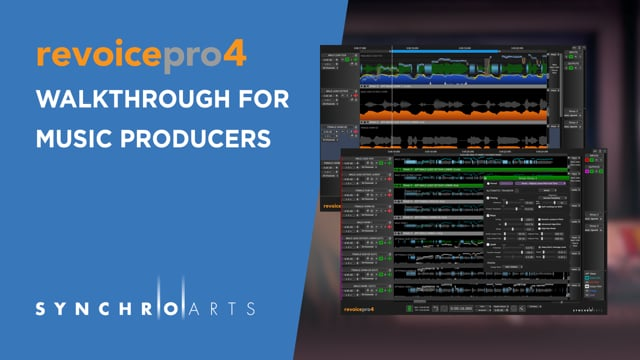 Music Production Using Revoice Pro 4