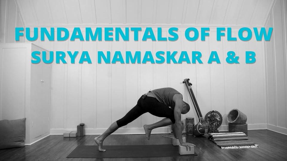 FUNdamentals of Flow: Surya Namaskar A & B