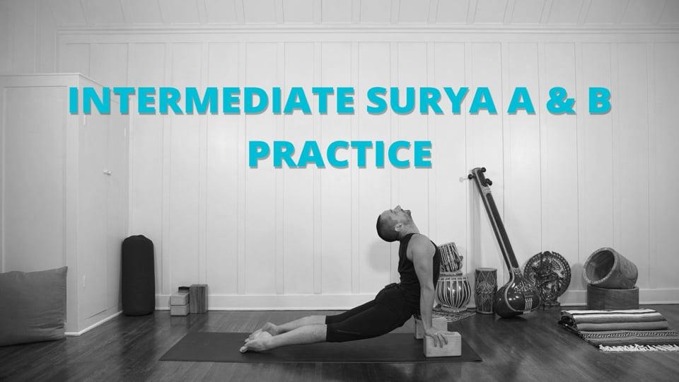 Intermediate Surya A & B Practice