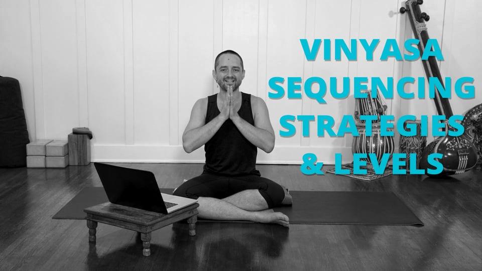 Vinyasa Sequencing Strategies & Levels