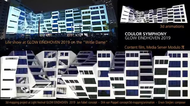 COLOUR SYMPHONY 3D-Mapping