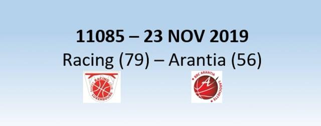 N1H 11085 Racing Luxembourg (79) - Arantia Larochette (56) 23/11/2019