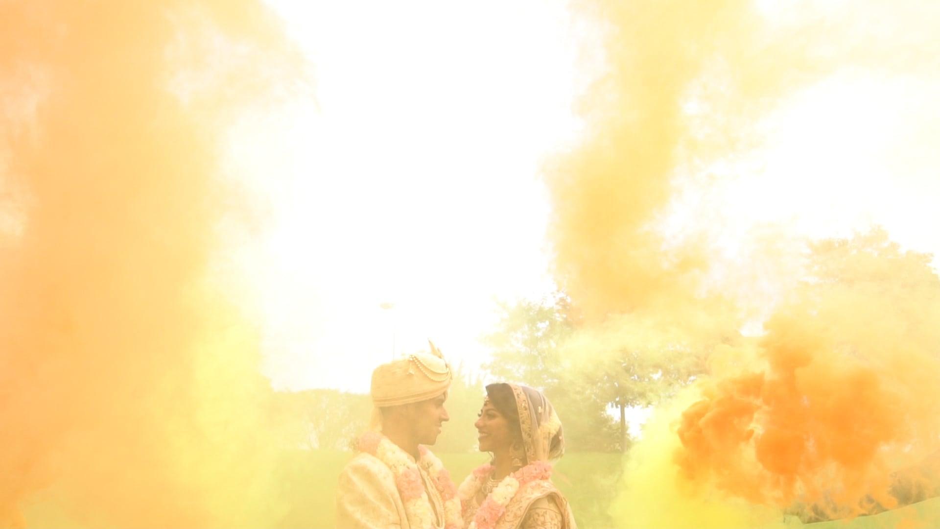 Novi Suburban Collection Showplace Hindu Wedding | Divya + Rahil Trailer