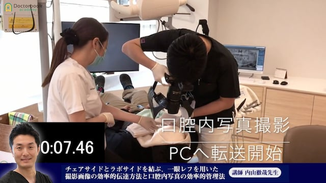 ①チェアサイドとラボサイドを結ぶ、一眼レフを用いた撮影画像の効率的伝達方法と口腔内写真の効率的管理法