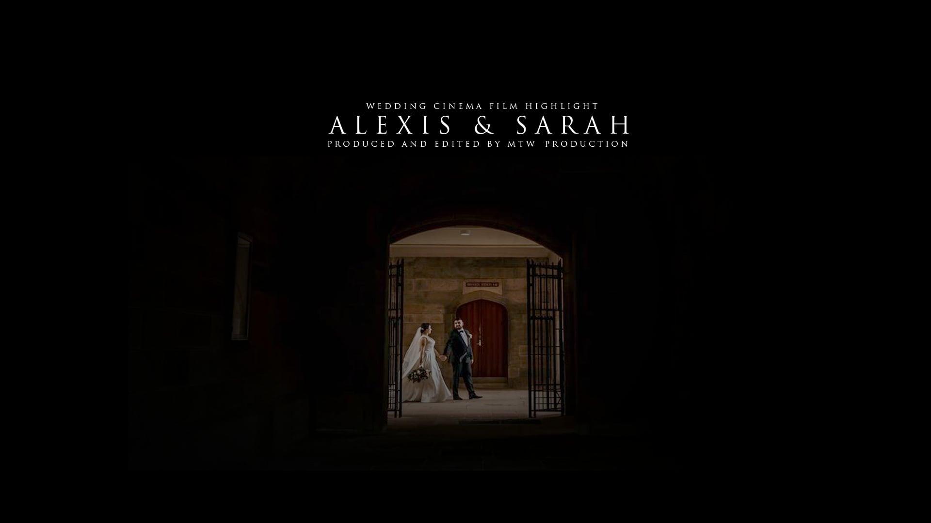 Wedding Cinema Film Highlight | Alexis and Sarah