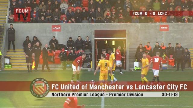 FCUM vs Lancaster City FC - Goals - 30-11-19