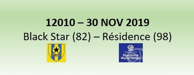 N2H 12010 Black Star Mersch (82) - Résidence Walferdange (98) 30/11/2019