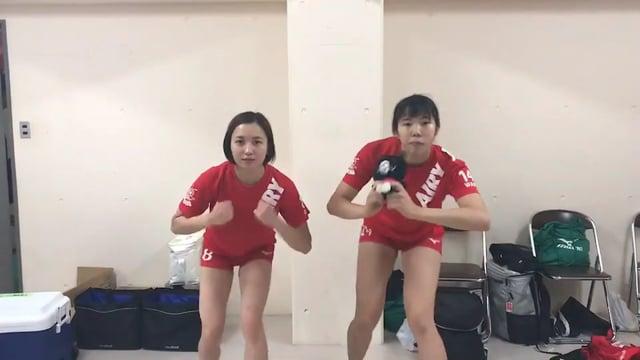 アイリとワカのビクトリーダンス(仮)