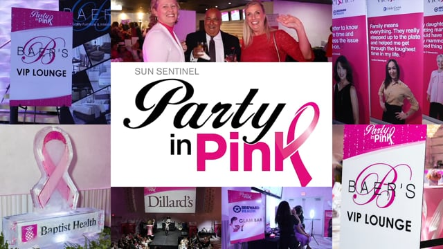 Sun Sentinel Party in Pink 2019