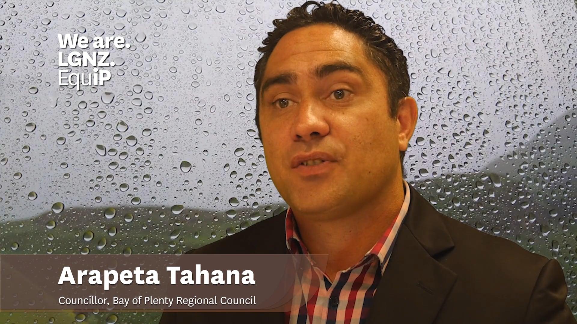 Standing for Local Government - Arapeta Tahana