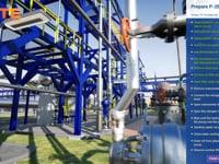 Gasoline hydrodesulfurization unit - preparing pump for service