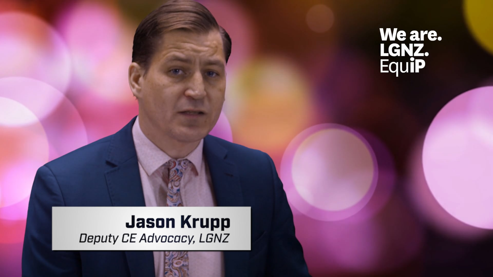 Jason Krupp, Deputy CE Advocacy, LGNZ