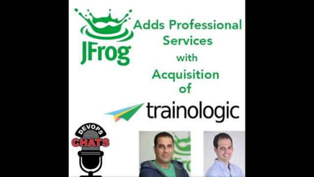 EP 127: Jfrog Adds Pro Services with Acquisition of Trainologic