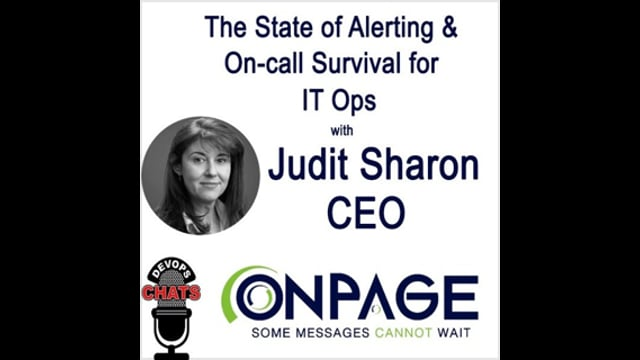 EP 95: The State of Alerting & On-call Survival for IT Ops