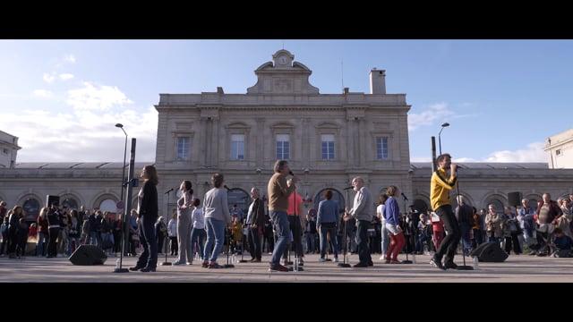 """""""We can be heroes"""" de Groupeenfonction au Manège de Reims"""