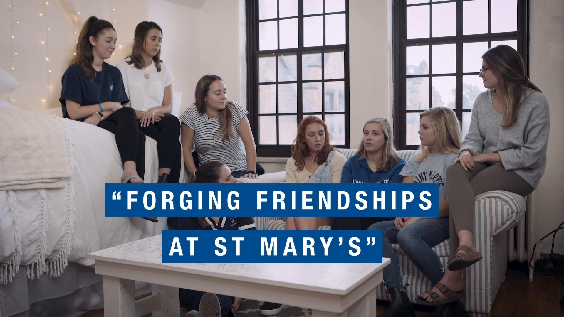 "Saint Marys College ""Forging Friendships"""