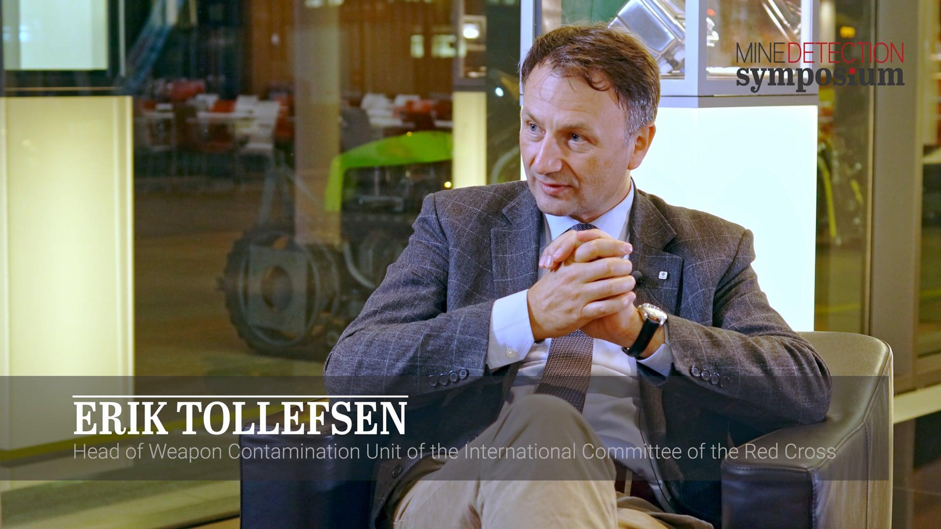 Erik Tollefsen - Symposium - Mine Detection Symposium 2019