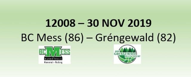 N2H 12008 BC Mess (86) - Gréngewald Hueschtert (82) 30/11/2019