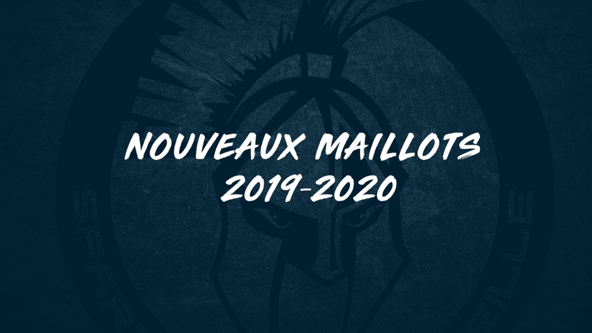 Les Spartiates - Présentation du maillot 2019-20