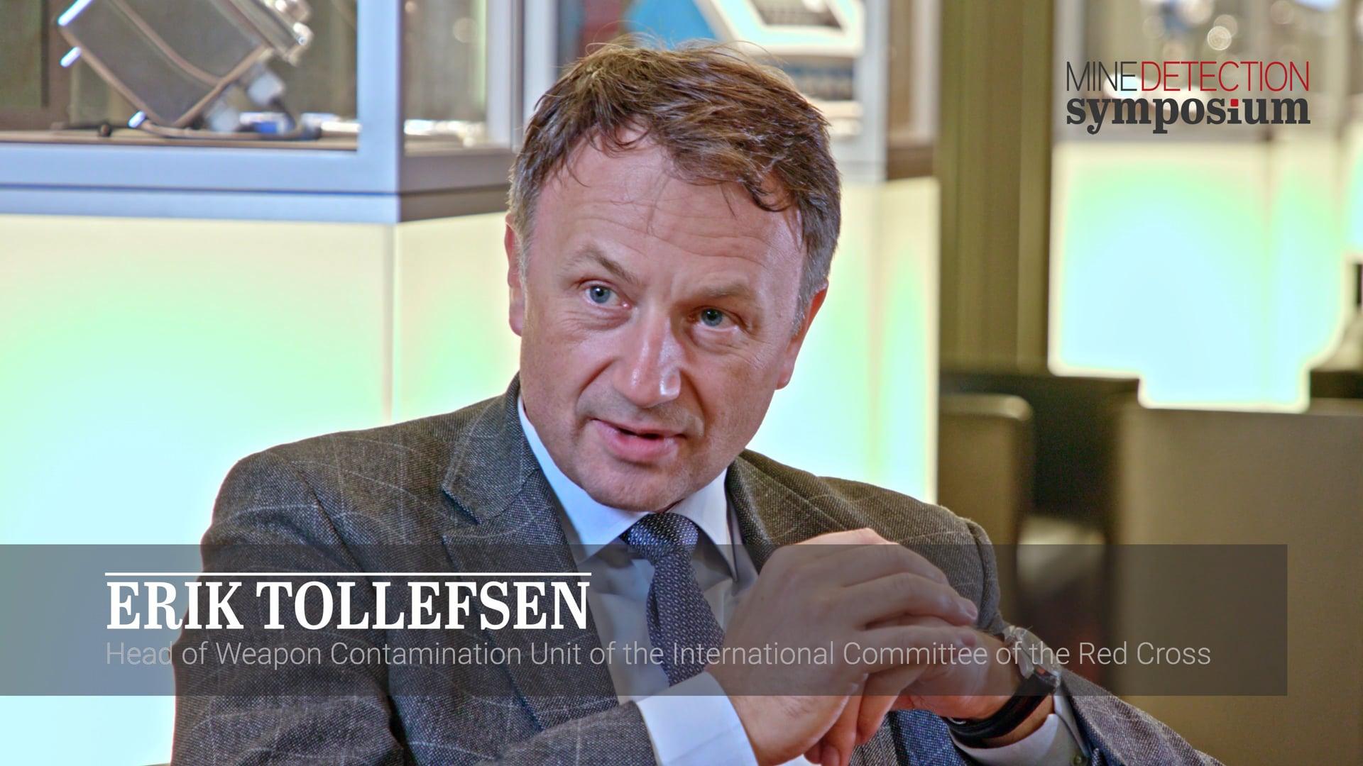 Erik Tollefsen - vision - Mine Detection Symposium 2019