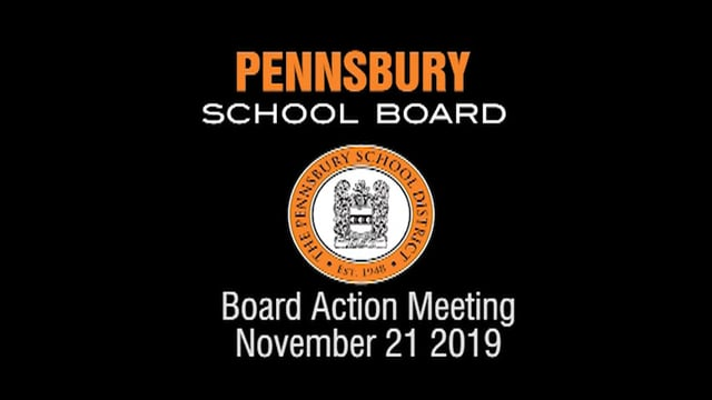 Pennsbury School Board Meeting for November 21, 2019