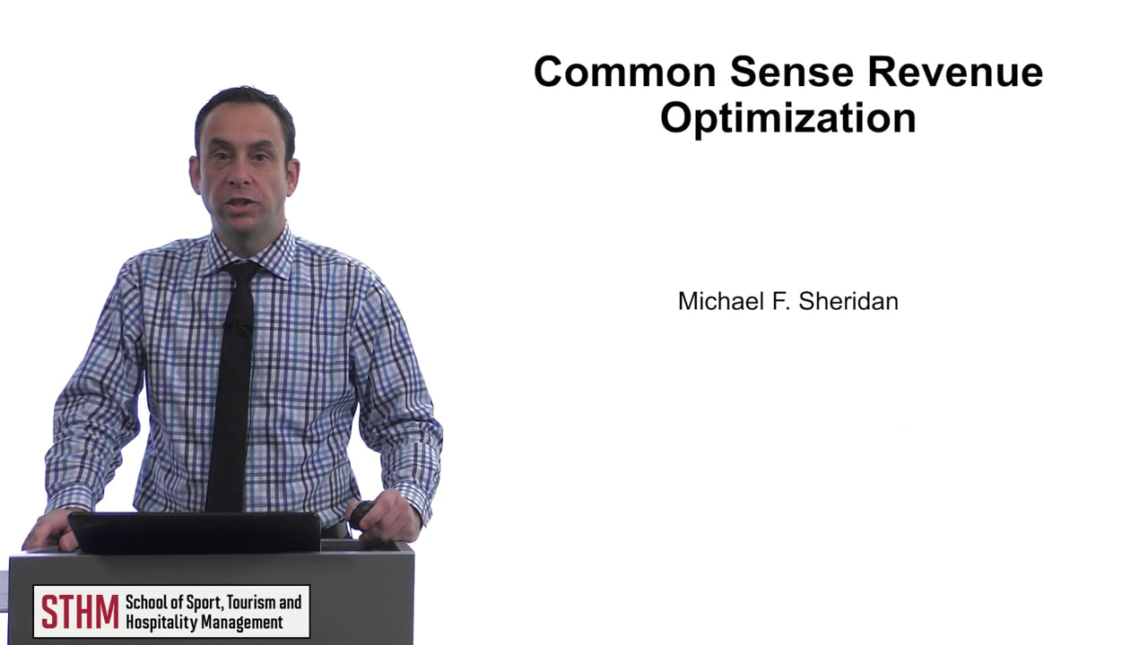 61651Common Sense Revenue Optimization