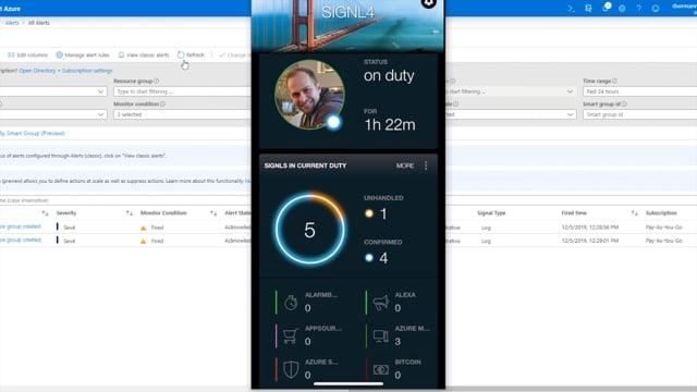 SIGNL4 Azure Monitor