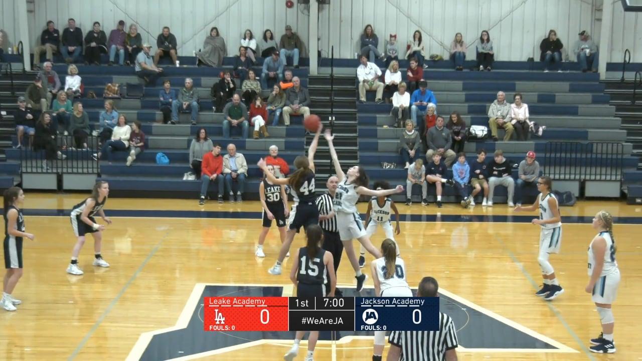 JV Girls Basketball-2019-Dec 7-Leake