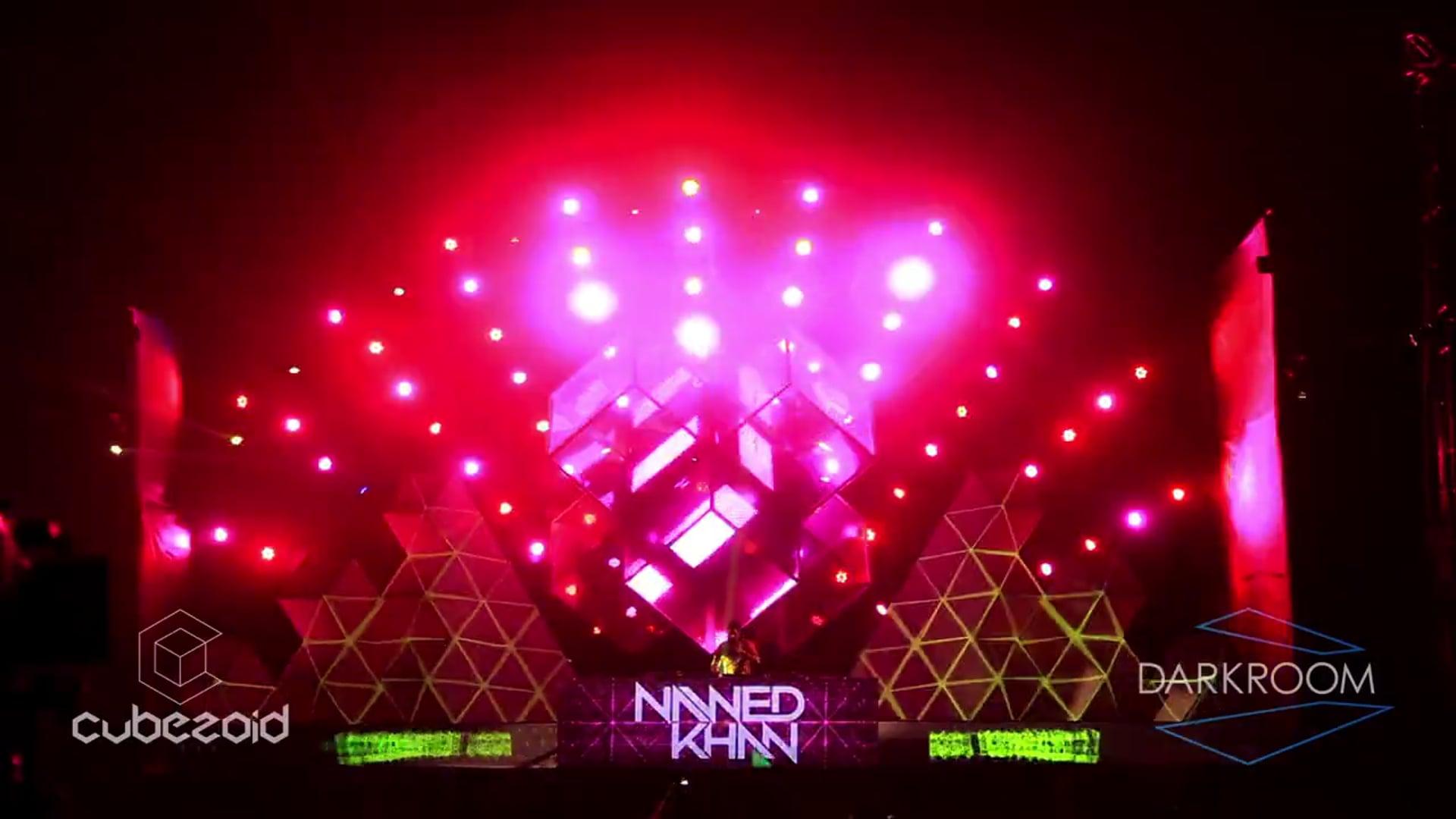 Cubezoid Stage, Sunburn 2012