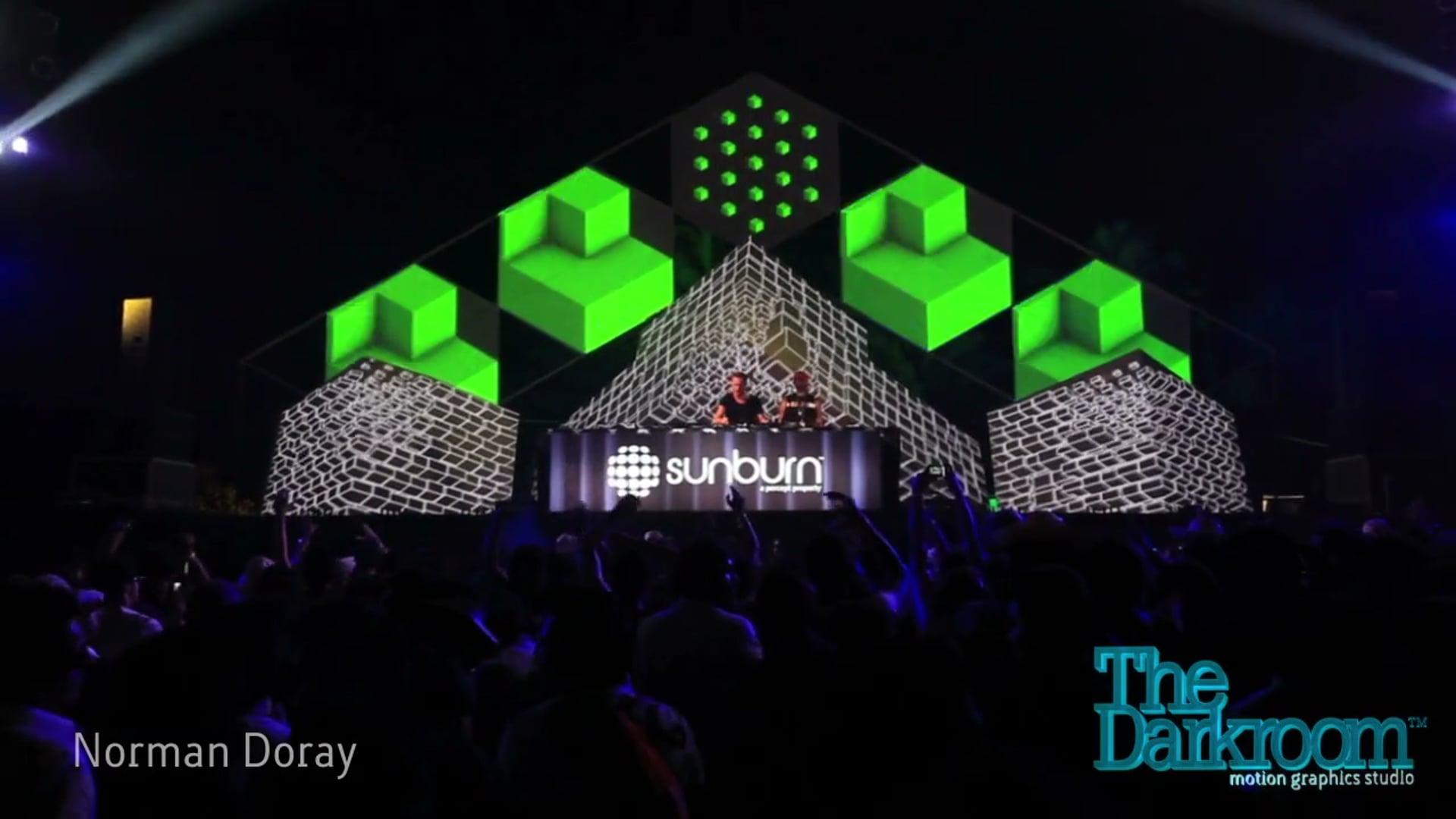Cubezoid Stage, Sunburn 2011