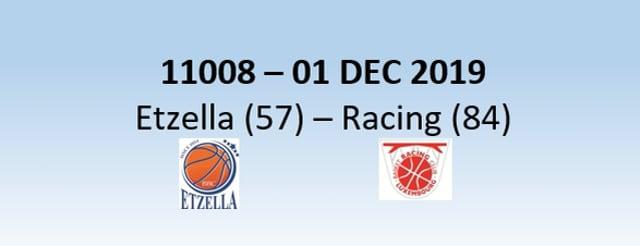 N1H 11008 Etzella Ettelbruck (57) - Racing Luxembourg (84) 01/12/2019